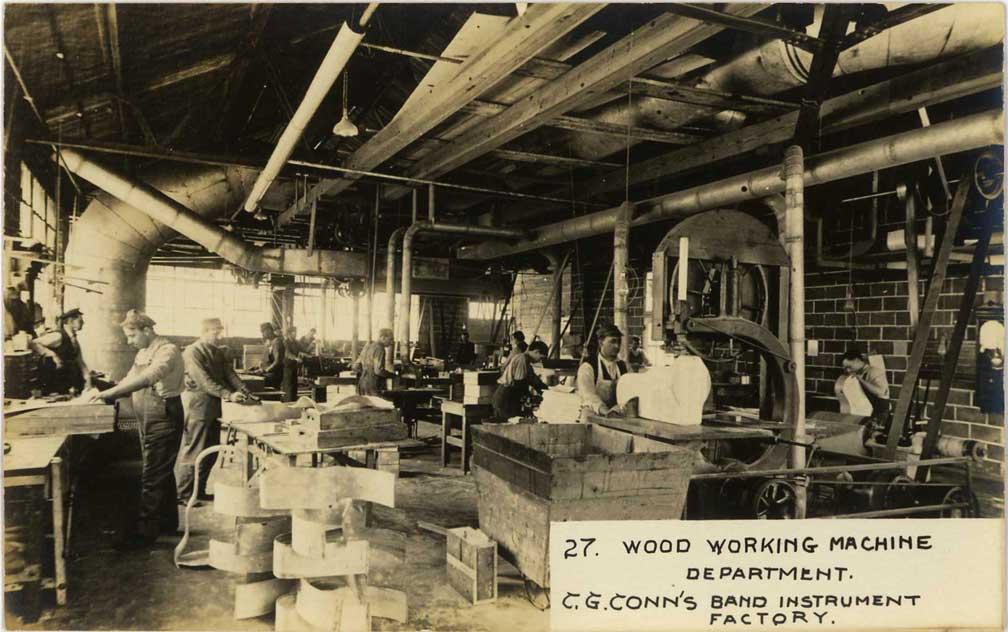 C  G  Conn factory images